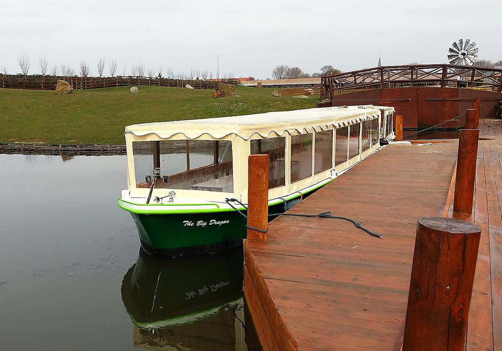 Rolstoel aangepaste rondvaartboot